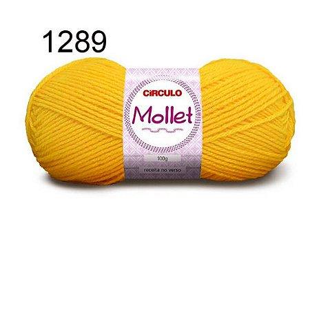 Lã Mollet 100gr 200m Cor 1289 Solar - Círculo