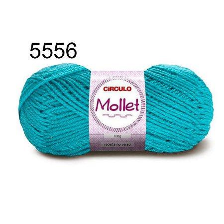 Lã Mollet 100gr 200m Cor 5556 Tiffany - Círculo