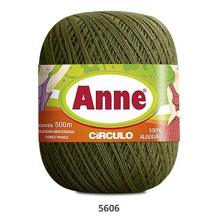 Linha Anne 500m Cor 5606 Militar - Círculo