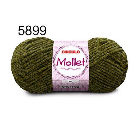 Lã Mollet 100gr 200m Cor 5899 Pantanal - Círculo