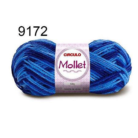 Lã Mollet 100gr 200m Cor 9172 Amuleto - Círculo