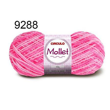 Lã Mollet 100gr 200m Cor 9288 Prímula - Círculo