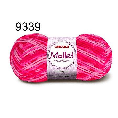 Lã Mollet 100gr 200m Cor 9339 Vibrante - Círculo