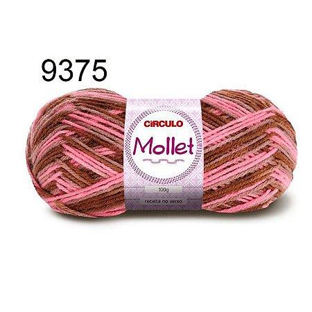 Lã Mollet 100gr 200m Cor 9375 Baú - Círculo