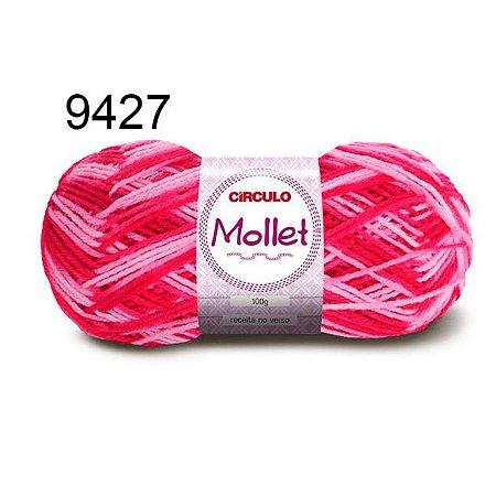Lã Mollet 100gr 200m Cor 9427 Flor - Círculo