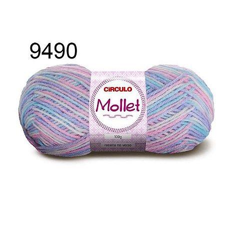 Lã Mollet 100gr 200m Cor 9490 Carrossel - Círculo