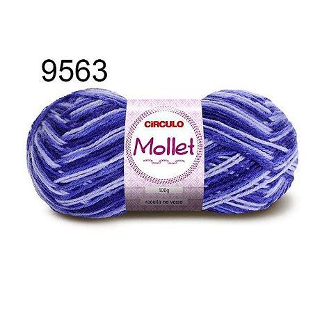 Lã Mollet 100gr 200m Cor 9563 Vinhedo - Círculo