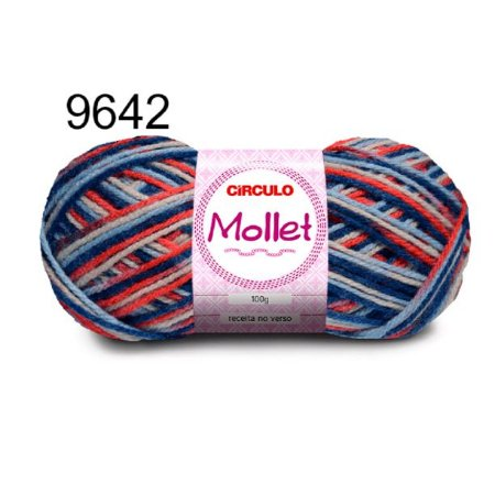 Lã Mollet 100gr 200m Cor 9642 Intuição - Círculo