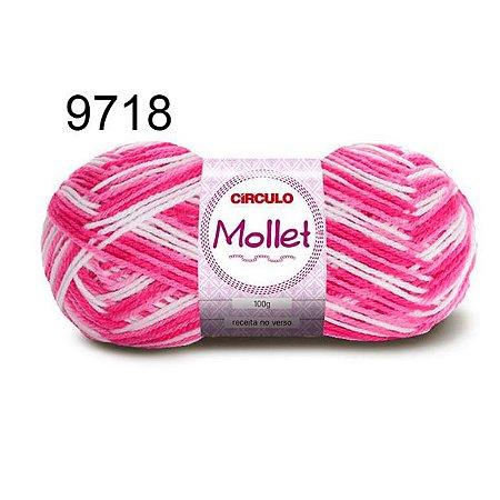 Lã Mollet 100gr 200m Cor 9718 Alamanda - Círculo