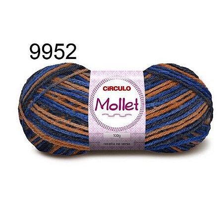 Lã Mollet 100gr 200m Cor 9952 Veleiro - Círculo