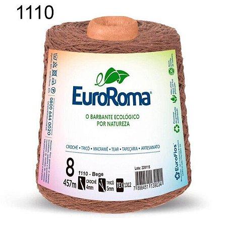 Barbante EuroRoma 8 fios Cor 1110 Bege 457 metros