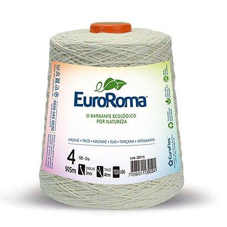 Barbante EuroRoma Cru 4 fios 915 metros