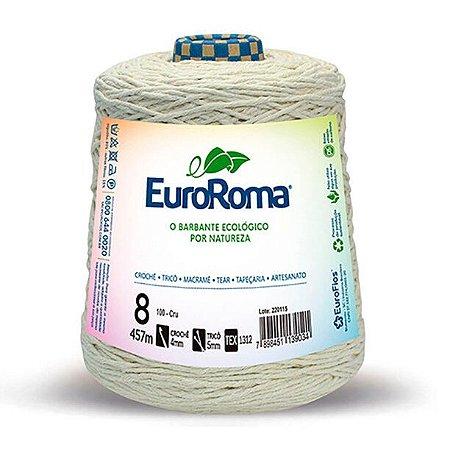 Barbante EuroRoma Cru 8 fios 457 metros