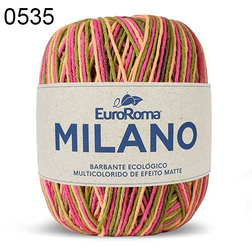 Barbante Milano 200gr Cor 535 Lírio EuroRoma