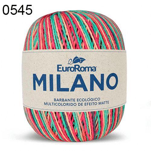Barbante Milano 200gr Cor 545 Algodão Doce EuroRoma