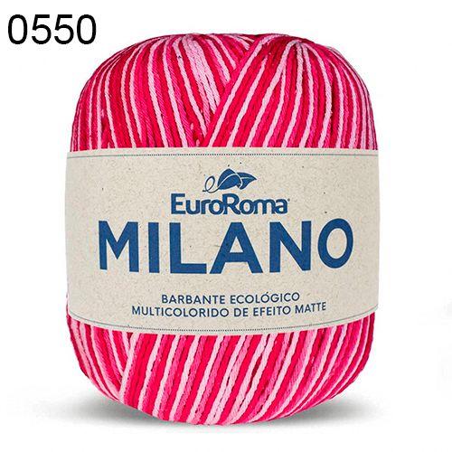 Barbante Milano 200gr Cor 550 Pink EuroRoma