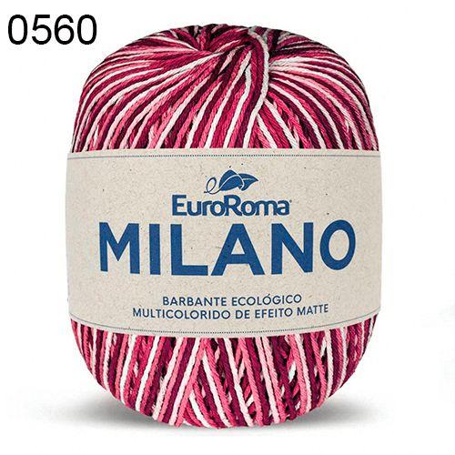 Barbante Milano 200gr Cor 560 Magenta EuroRoma