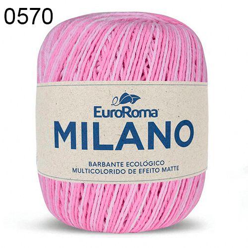 Barbante Milano 200gr Cor 570 Rosa EuroRoma