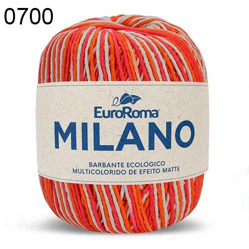 Barbante Milano 200gr Cor 700 Salmão EuroRoma