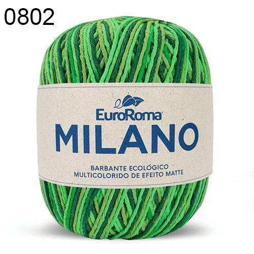 Barbante Milano 200gr Cor 802 Esmeralda EuroRoma