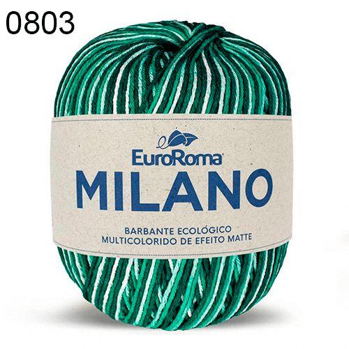 Barbante Milano 200gr Cor 803 Verde Bandeira EuroRoma