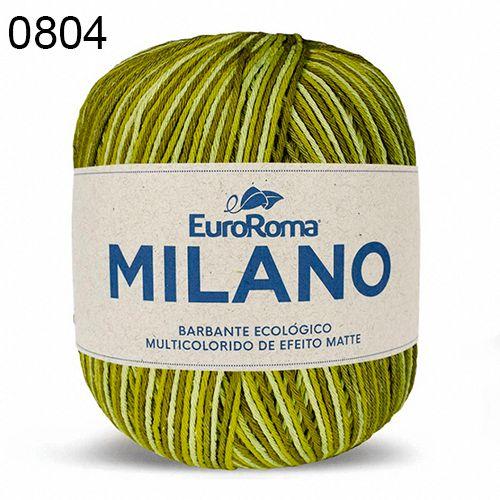 Barbante Milano 200gr Cor 804 Verde Musgo EuroRoma