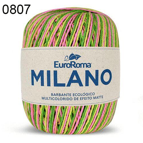 Barbante Milano 200gr Cor 807 Primavera EuroRoma
