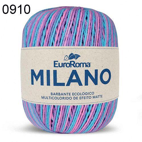 Barbante Milano 200gr Cor 910 Lavanda EuroRoma