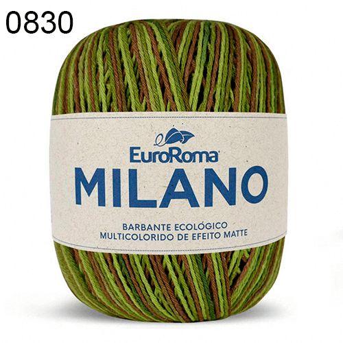 Barbante Milano 200gr Cor 830 Floresta EuroRoma