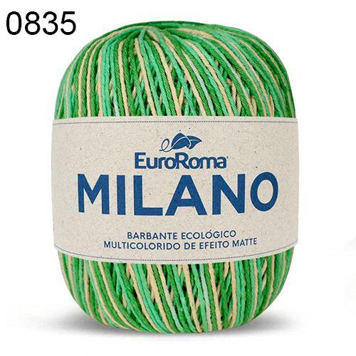 Barbante Milano 200gr Cor 835 Menta EuroRoma