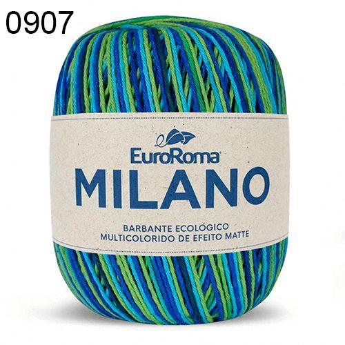 Barbante Milano 200gr Cor 907 Oceano EuroRoma