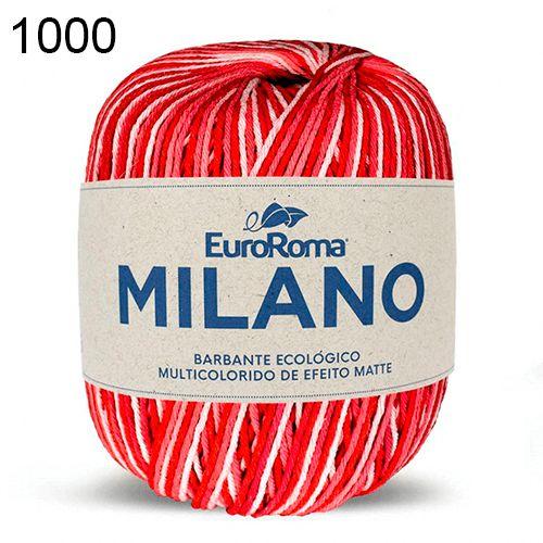 Barbante Milano 200gr Cor 1000 Vermelho EuroRoma