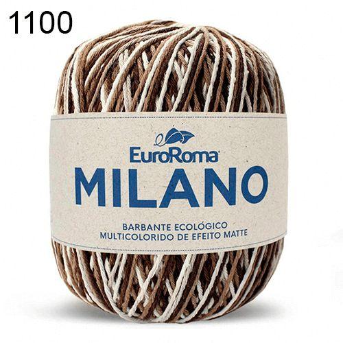 Barbante Milano 200gr Cor 1100 Marrom EuroRoma