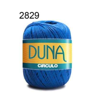 Linha Duna 100g Cor 2829 Azul Bic - Círculo