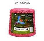 Barbante Amazônia 6 fios Cor 27 Goiaba 2 kg - São João