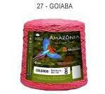 Barbante Amazônia 8 fios Cor 27 Goiaba 2 kg