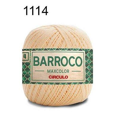 Barbante Barroco 4 Cor 1114 Amarelo Candy (590 Tex) 200gr - Círculo