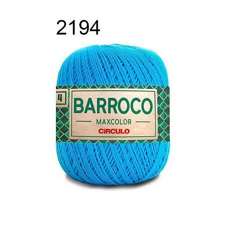 Barbante Barroco 4 Cor 2194 Turquesa (590 Tex) 200gr - Círculo