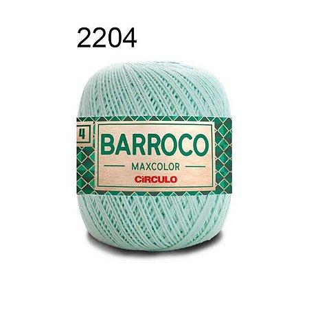 Barbante Barroco 4 Cor 2204 Verde Candy (590 Tex) 200gr - Círculo