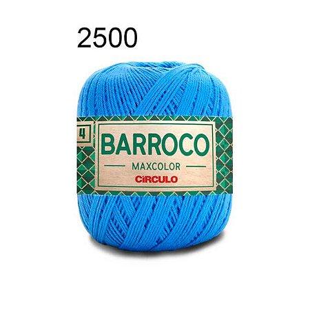 Barbante Barroco Maxcolor 4 Cor 2500 Acqua (590 Tex) 200gr - Círculo