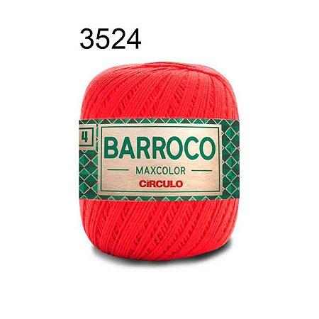 Barbante Barroco 4 Cor 3524 Chama (590 Tex) 200gr - Círculo