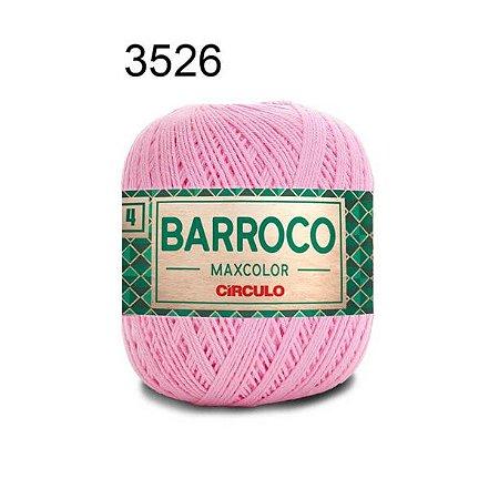 Barbante Barroco 4 Cor 3526 Rosa Candy (590 Tex) 200gr - Círculo