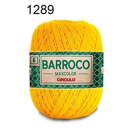 Barbante Barroco Maxcolor 6 Cor 1289 Canário (885 Tex) 200gr - Círculo