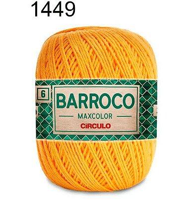 Barbante Barroco Maxcolor 6 Cor 1449 Ouro (885 Tex) 200gr - Círculo