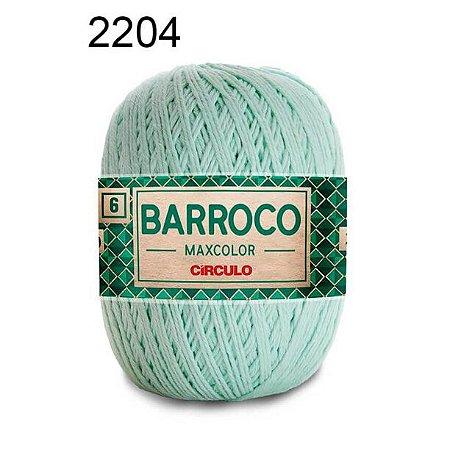 Barbante Barroco Maxcolor 6 Cor 2204 Verde Candy (885 Tex) 200gr - Círculo