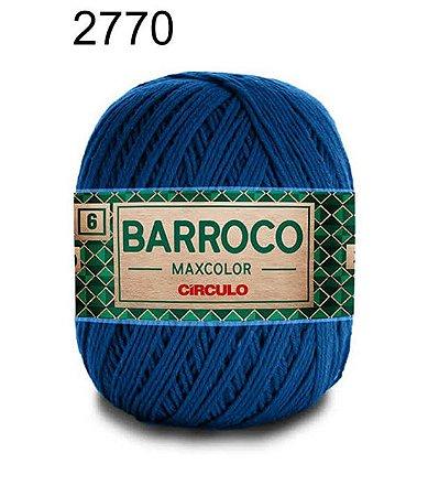 Barbante Barroco 6 Cor 2770 Azul Clássico (885 Tex) 200gr - Círculo