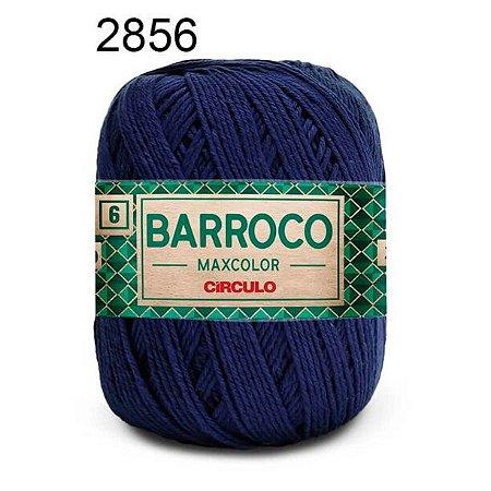 Barbante Barroco Maxcolor 6 Cor 2856 Anil Profundo (885 Tex) 200gr - Círculo