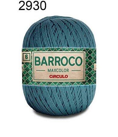 Barbante Barroco Maxcolor 6 Cor 2930 Netuno (885 Tex) 200gr - Círculo