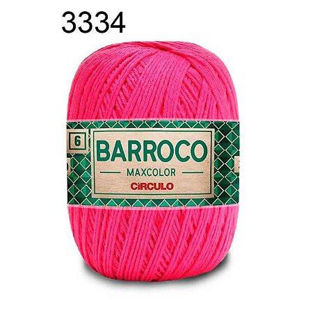 Barbante Barroco 6 Cor 3334 Tulipa  (885 Tex) 200gr - Círculo