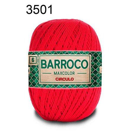 Barbante Barroco 6 Cor 3501 Malagueta  (885 Tex) 200gr - Círculo